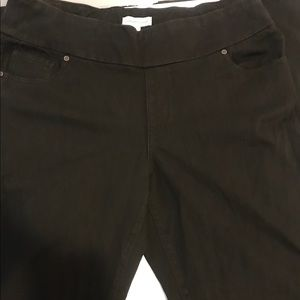 Coldwater Creek Black  wild Waistband Jeans